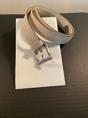 Vintage Gianni Versace Belt, Tan, Size 90/36
