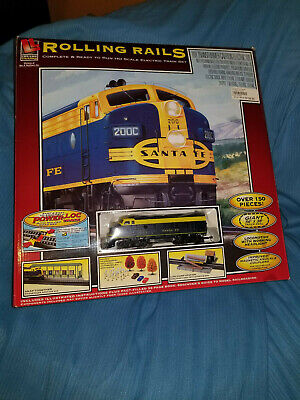 Rolling Rails HO Scale Electric Train Set (New in UNOPENED Box)