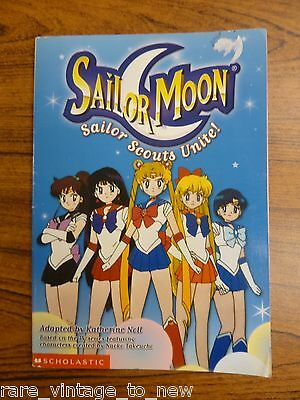 Sailor Scouts Unite! by Naoko Takeuchi 2001, Paperback Book Manga Moon