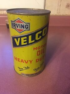 Irving oil velco can