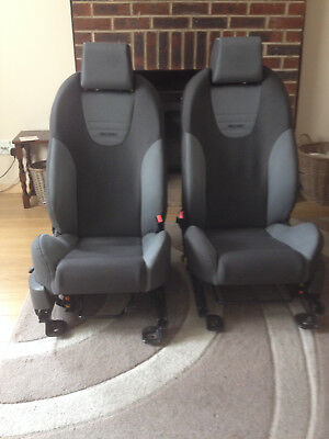FORD FOCUS 3 DOOR ST COMPLETE SEATS FRONT REAR MK2