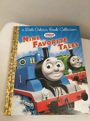 A Little Golden Book Collection THOMAS THE TRAIN 9 Nine Favorite Tales EUC