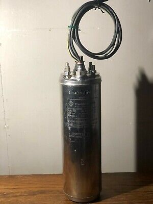 Franklin Electric 2145089003 4-wire Well Submersible Pump Motor 1hp 230v 1ph
