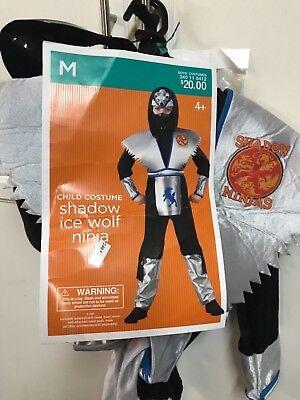 EUC Boys Wolf Ninja Costume size M](Wolf Boy Costume)