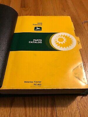 Genuine Original John Deere 5010 5020 Tractor Parts Book Catalog Manual