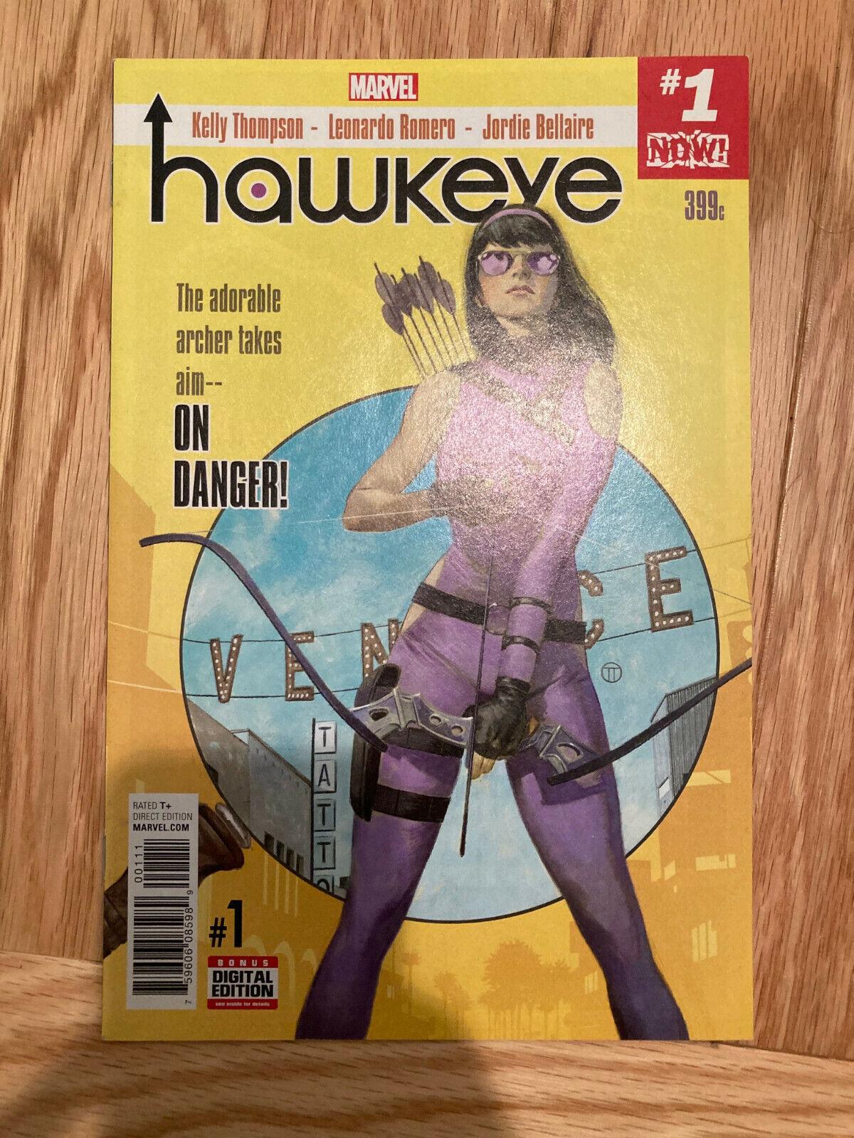 HAWKEYE Vol 5 1 1st Ramone Watts Alloy Marvel Comics - $28.99