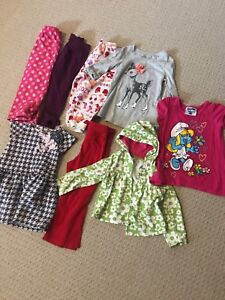 Size 2T girls lot of clothing.