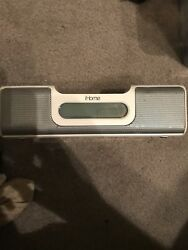 iHome Ih5 Alarm Clock Radio Apple iPod Home System READ REVIEW