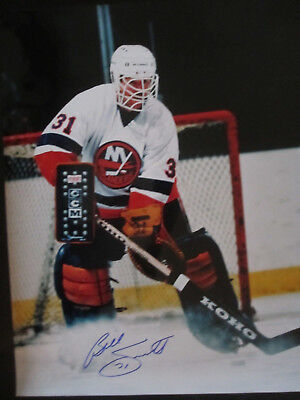 BILLY SMITH HOF Signed Autograph signed 16x20 Photo Picture New York Islanders  (Billy Smith 16x20 Photograph)