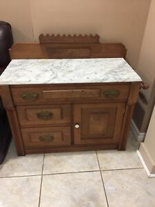 Antique Washstand/Cabinet