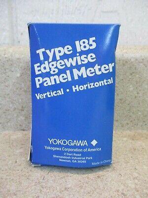 Yokogawa Type 185 Edgewise Panel Meter 820256g Nib- Open