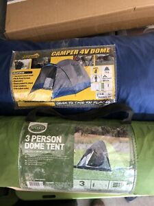 2 Dome Tents 3 and 4 person used