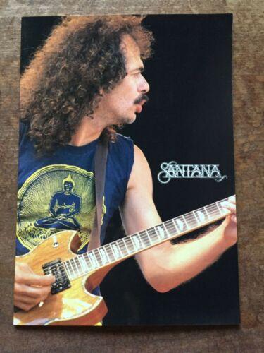 """SANTANA"" Tourbook Japan Tour 1991 A 25-Year Celebration Live Booklet"