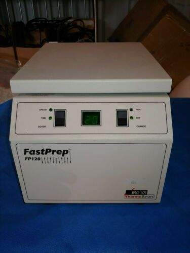 Thermo Savant FastPrep FP120 Cell Disrupter Homogenizer FP120A-115