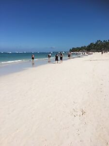 BAVARO beach Punta Cana condo, 350 steps to beach