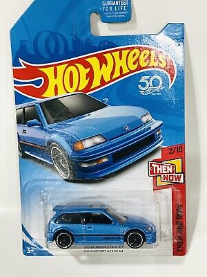 Rare Hot Wheels Then And Now 90 Honda Civic EF Blue Kmart Kdays