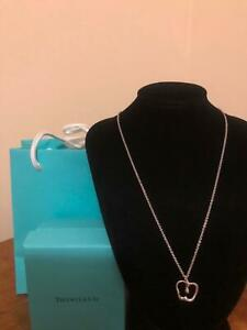 Authentic Tiffany & Co Small Apple Necklace