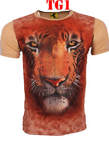 Big Face Tiger Dog Wolf Frog Cat Moutain tshirt Panda Shark Bull Mastiff Cobra