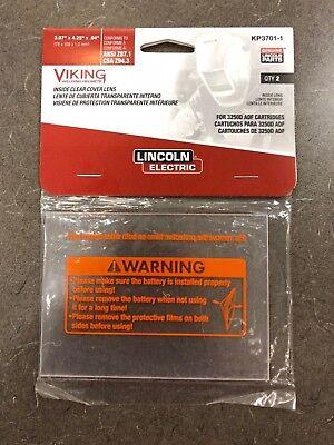 Genuine Lincoln Kp3701-1 Inside Welding Lens K3540-3 3250d Fgs Viking Adf Clear