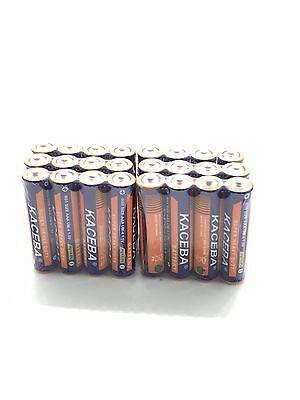 24 Pack AAA Batteries Extra Heavy Duty 1.5v. Wholesale Lot New Fresh