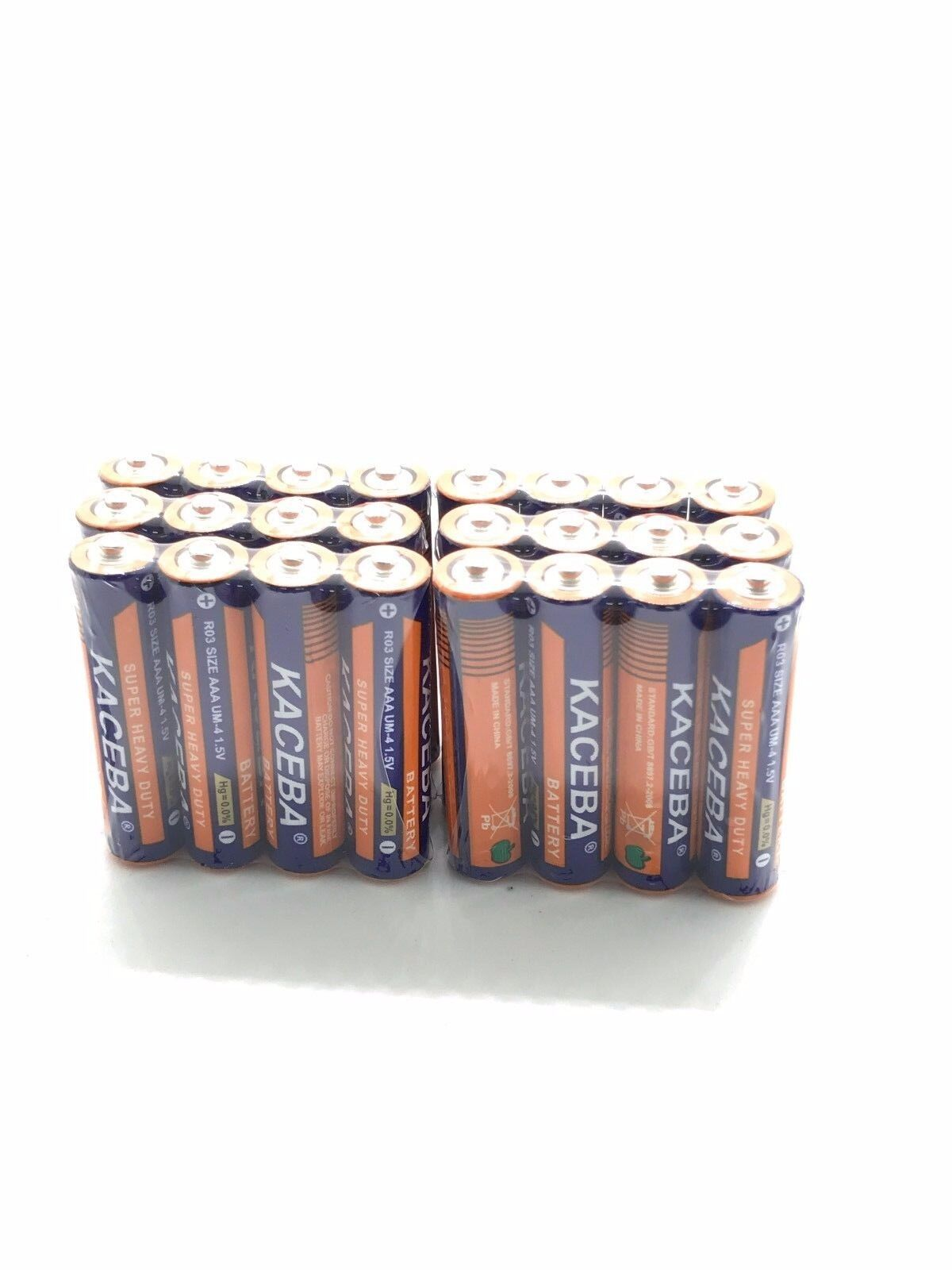 24 Pack AAA Batteries Extra Heavy Duty 1.5v. Wholesale Lot N