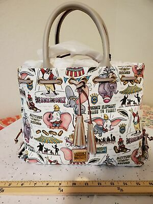 Disney Dooney Dumbo Satchel Purse Bag
