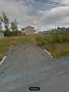 Fully serviced, cleared building lot in Enfield, NS.  No HST!
