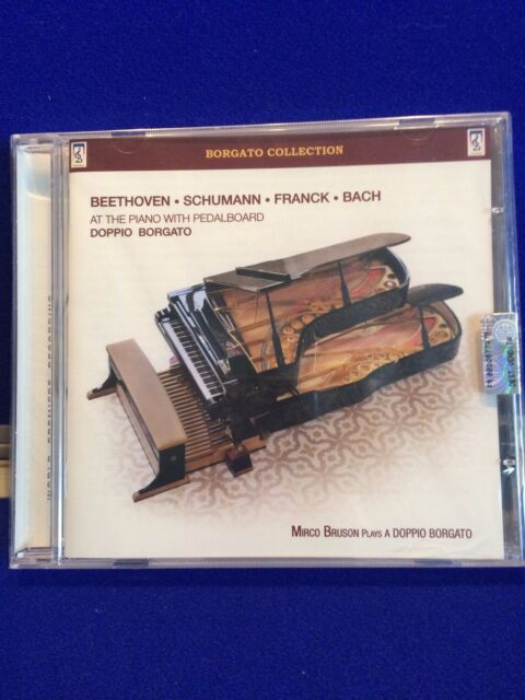 NEW Beethoven, Schumann, Franck, Bach at the Piano with Pedalboard (2011)
