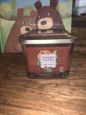 Yankee Candle Elevation Collection Ginger Pumpkin 3-Wick Candles 12.25 OZ NEW