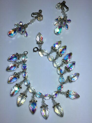 Vintage Vendome Rhinestone Jewelry Set
