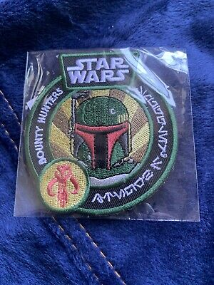 Funko Star Wars Smuggler's Bounty exclusive patch: Bounty Hunters Boba Fett