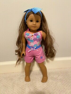 American Girl Doll Kanani's Beach Outfit RETIRED GIRL OF THE YEAR 2011
