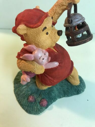 Simply Pooh Winnie The Pooh & Piglet It's Much Braver With Two Figurine Disney