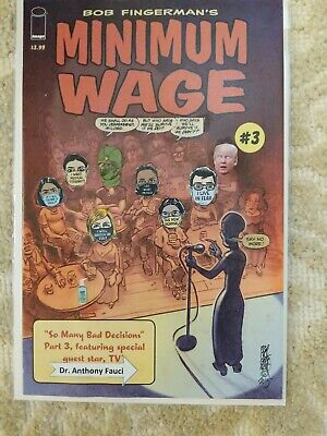 Minimum Wage #3, mixed media, original art, FREE SHIPPING 👌