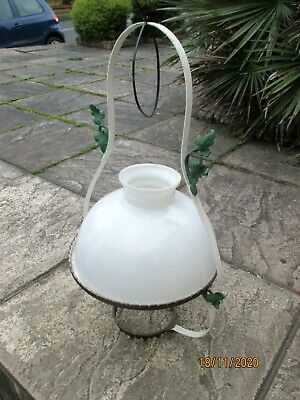 Veritas Glass Antique Oil Lamp Shade, ( ONLY )