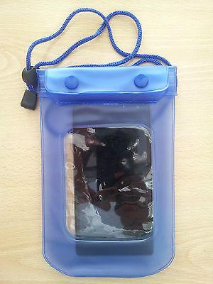 Hülle Tasche wasserdichte Blau, und versenkbar von pvc für Mobile, Kamera ()