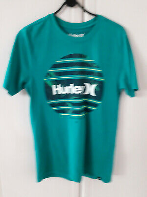 Mens Hurley T-Shirt, Green,Size Small