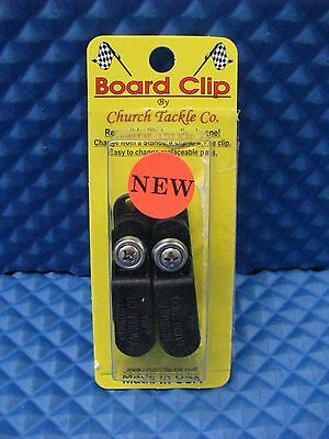 Church Tackle Board Clip for Planer Boards 2 per pack NEW -