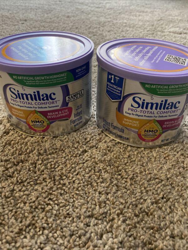 2- Similac Pro-Total Comfort Infant Formula (7.6 oz)