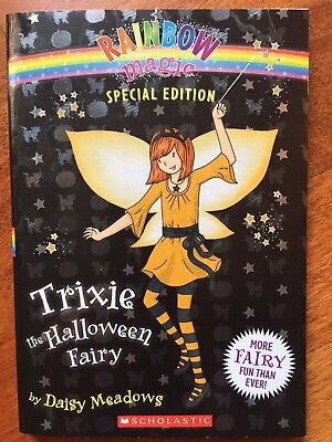 Rainbow Magic: Trixie the Halloween Fairy + Holly & Gabriella by Daisy Meadows  - Trixie The Halloween Fairy