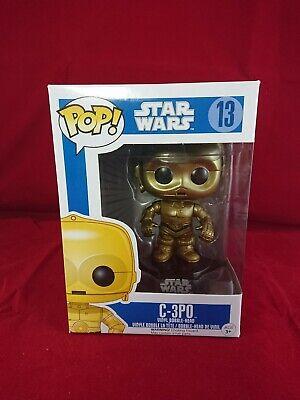 Funko pop vinyl Star Wars C-3PO Blue Box Figure 13
