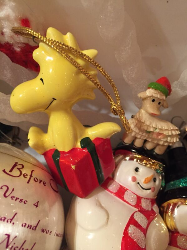 Christmas Ornament Huge LOT Vintage Assorted Santa Animal