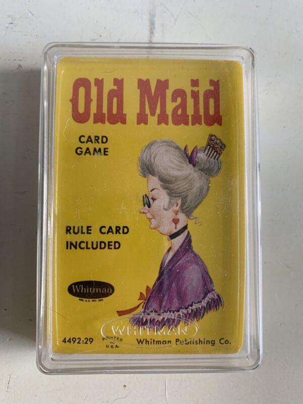 Old Maid Card Game Whitman Publishing Sealed 4492