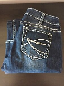 Silver Aiko bootcut jeans - size 30