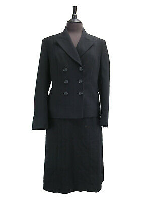 Vintage Navy Uniform  - Womens Jacket and Skirt - UK size 6