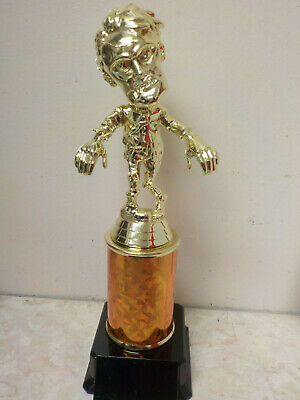 Most Scariest Costumes (Halloween ZOMBIE trophy award, Best Costume, Scariest, Most Creative, 9.25