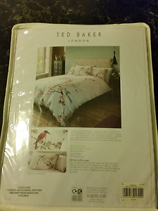 Ted baker duvet quilt cover only flight of the orient King size B Drummoyne Canada Bay Area Preview