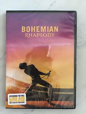 Bohemian Rhapsody (DVD, 2019) Brand New and Sealed
