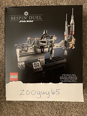 LEGO Star Wars 75294 Bespin Duel Set - Empire Strikes Back 40th SW Celebration