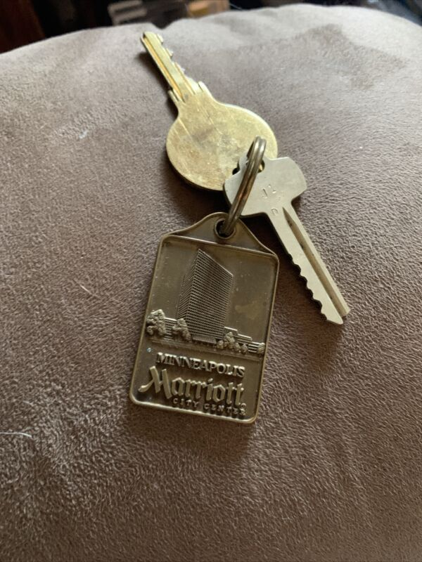 Minneapolis Marriott Brass Hotel Key